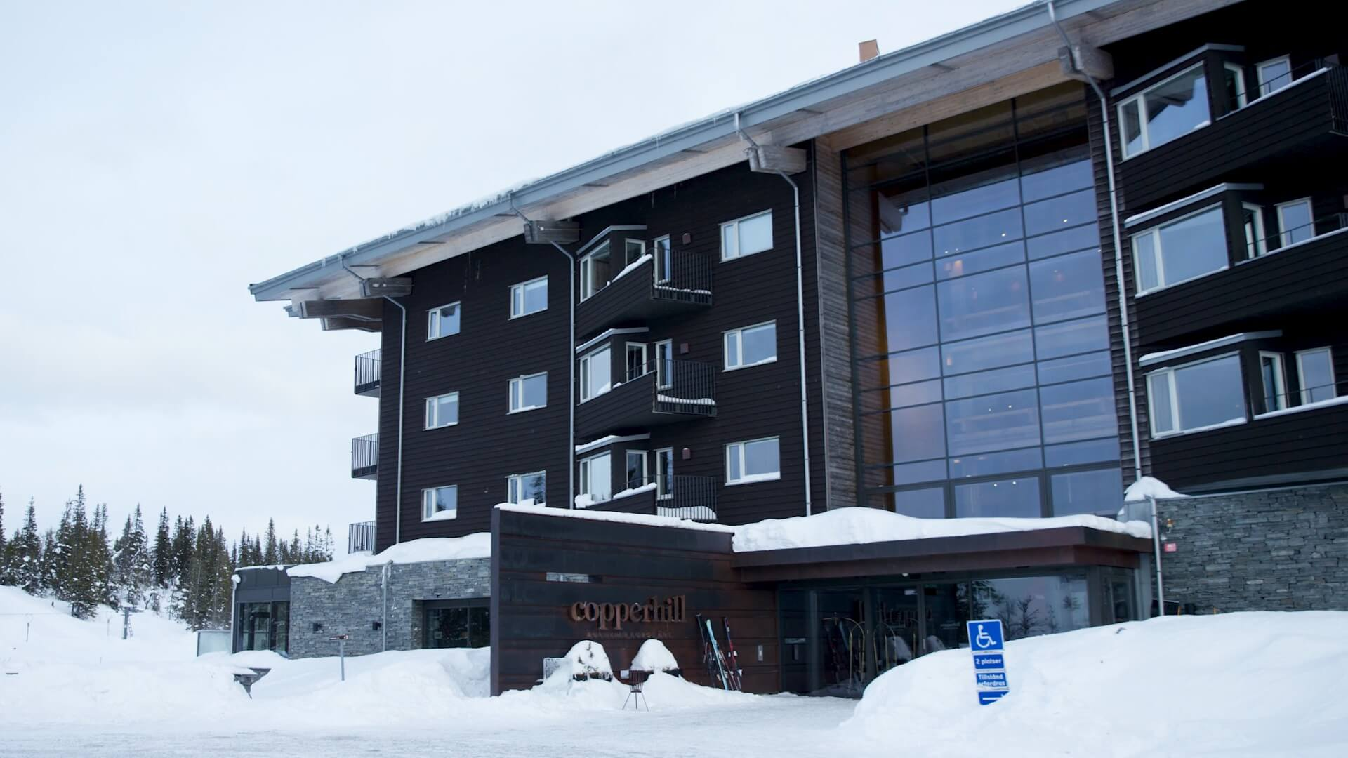 Hotell Copperhill Lodge Åre
